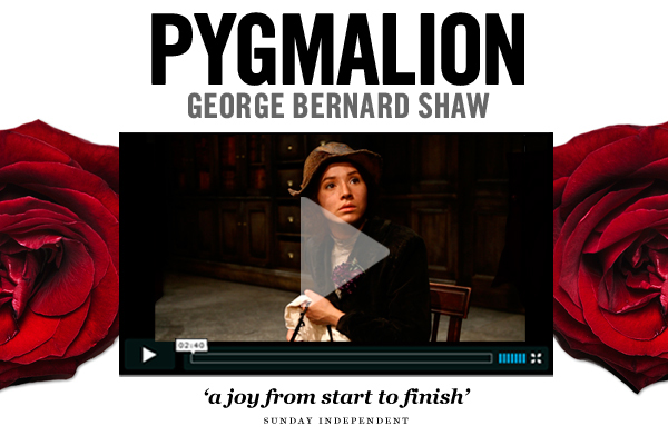Pygmalion on the Abbey stage