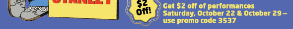 Stanley fall 590x60 Arvada Center Coupon for Flat Stanley Play
