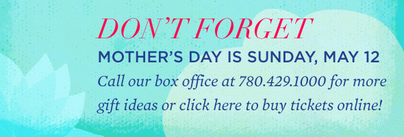 Mother's Day is May 12!