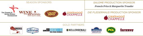 Edmonton Opera sponsors