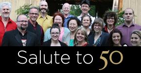 Salute to 50 chorus concert