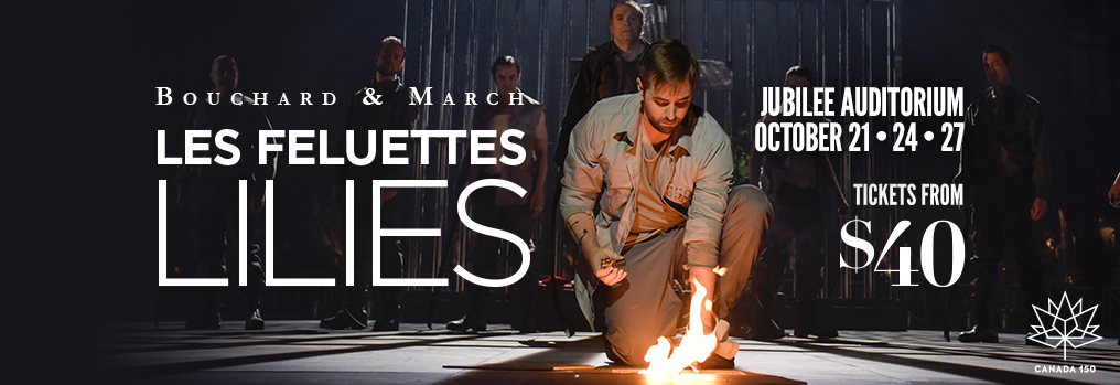 Lilies, a new Canadian opera