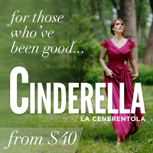 Cinderella tickets from $40!