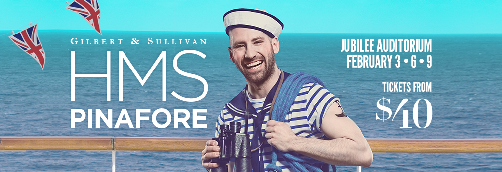 HMS Pinafore like you've never seen — or heard — before!