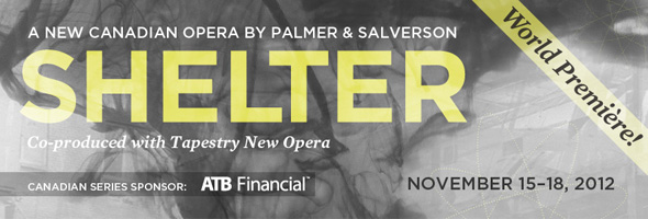World premiere of Shelter, Nov. 15