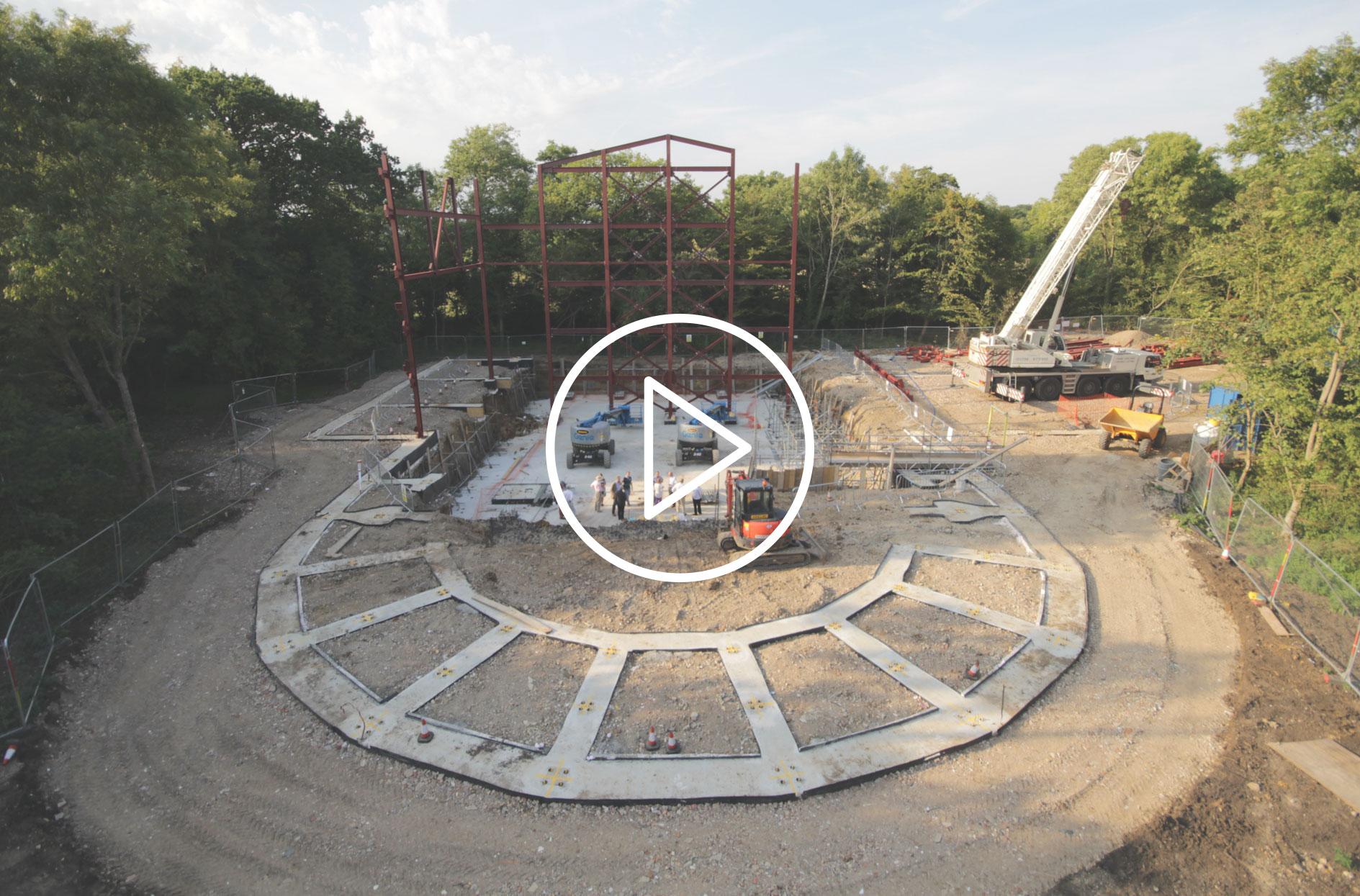 Grange Park Opera Timelapse video