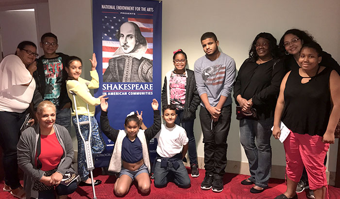 A group from Community Renewal Team's Generations Program enjoyed A Midsummer Night's Dream at Hartford Stage.  Photo Courtesy:  Community Renewal Team