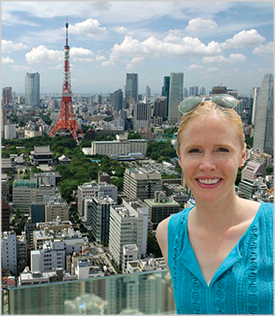 Darley Newman in Tokyo