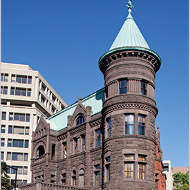 Heurich House Museum; photo by Carol M. Highsmith (Library of Congress)