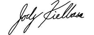 Jody Kielbasa signature