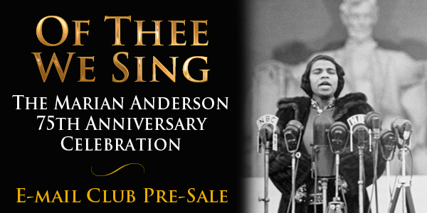 Marian Anderson 75th Anniversary Celebration
