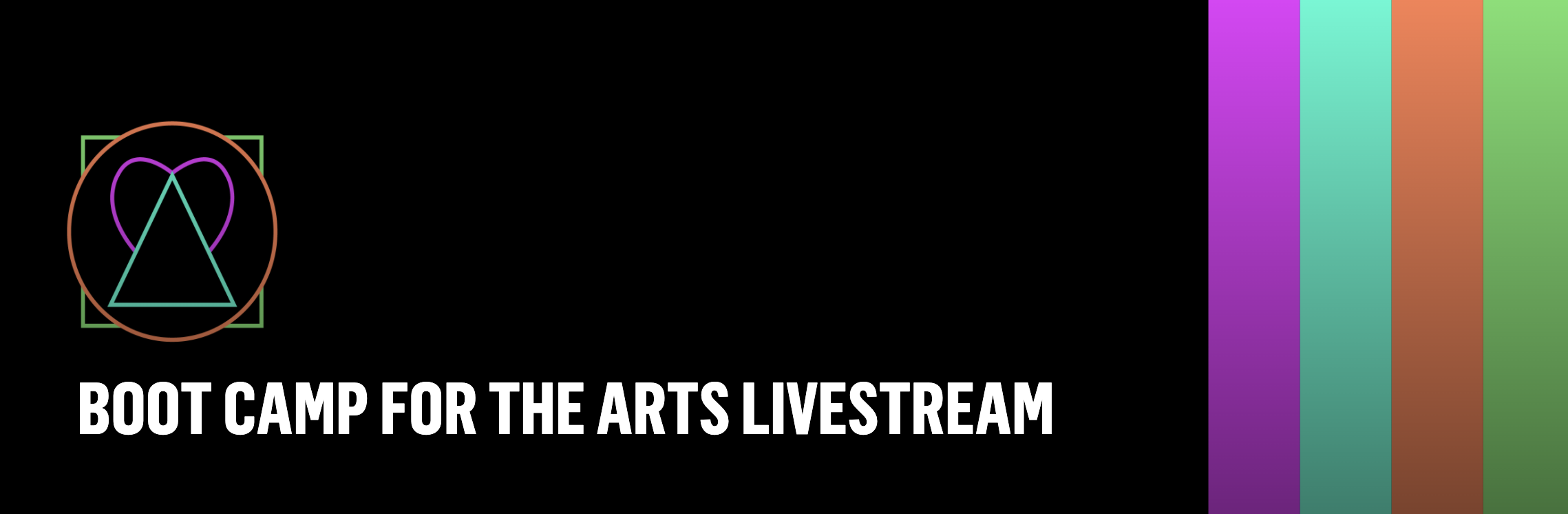 Image: Boot Camp for the Arts Livestream