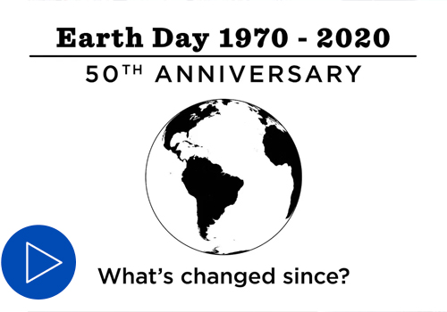Earth Day 50th Anniversary Video