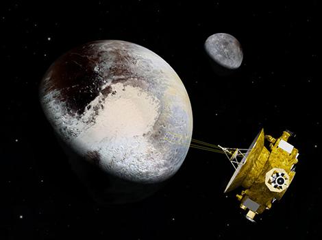 Astrovisualization of Pluto.