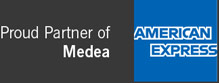 Proud Partner of Medea: American Express