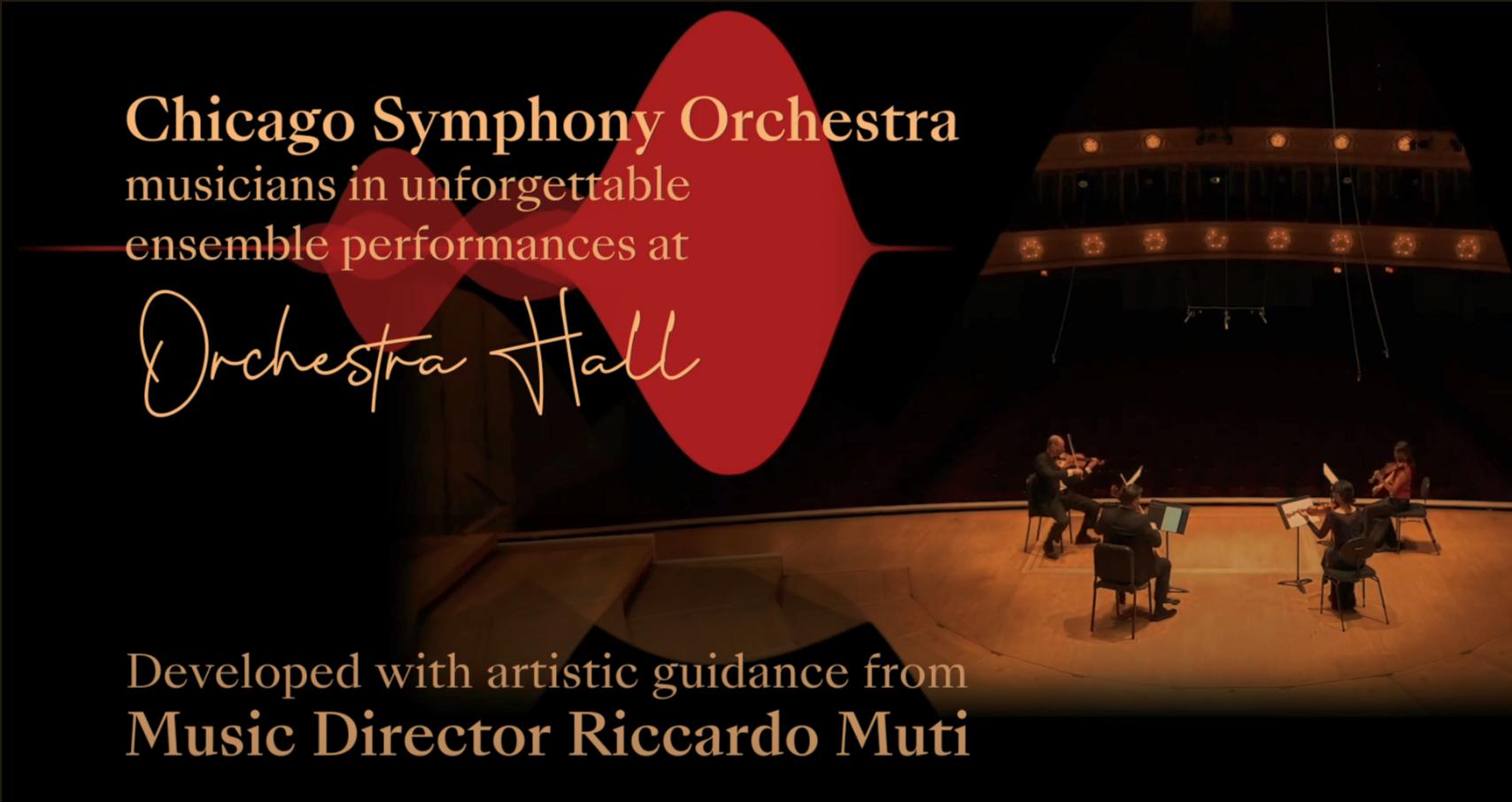 Chicago Symphony Orchestra—CSOtv—CSO Sessions