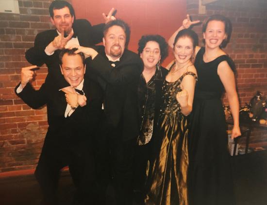 Liz Upchurch and her first Ensemble Studio cohort
