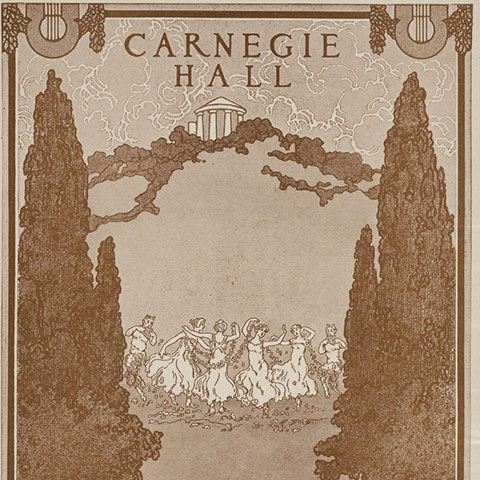 Archive Program from Carnegie Hall