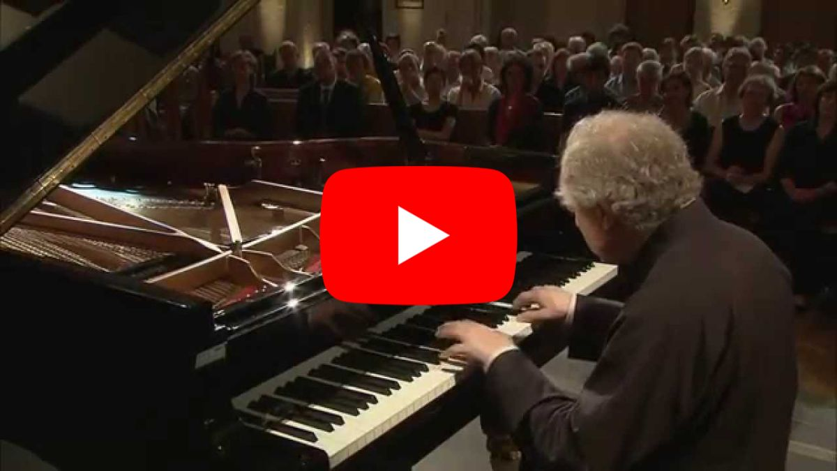 András Schiff - Bach. Overture in French Style in B minor BWV831