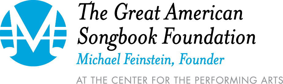 The Great American Songbook Foundation; Michael Feinstein, Founder logo