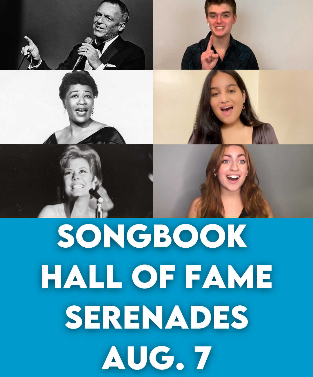 Songbook Hall of Fame Serenades Aug. 7