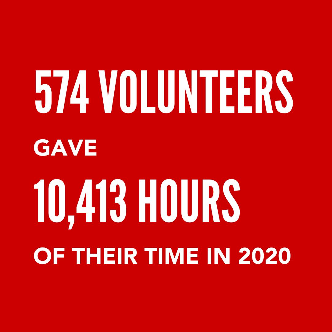 Volunteer stat 1