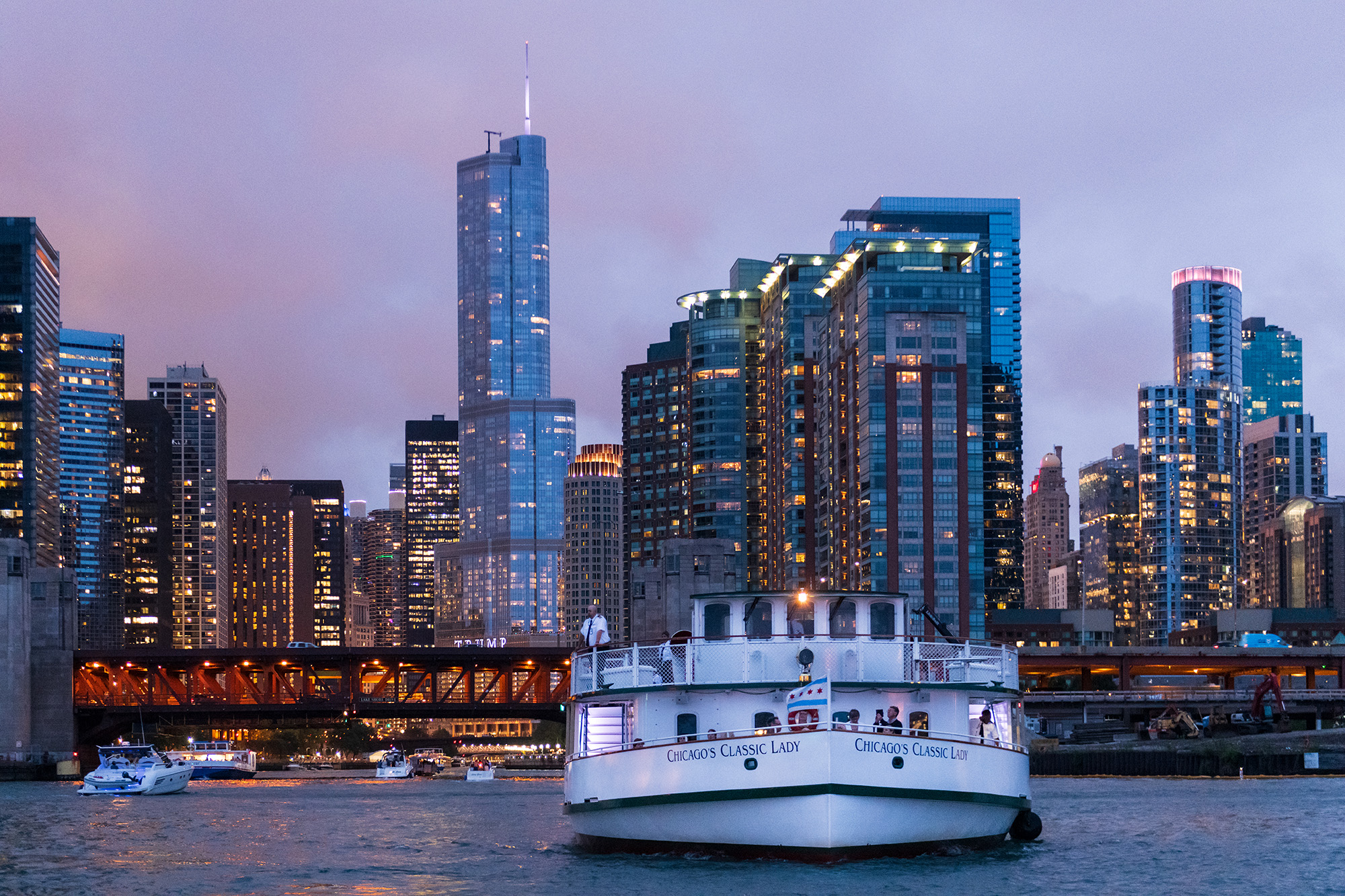 CAFC River Cruise aboard Chicago's First Lady