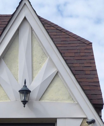 Galewood bungalow roof detail