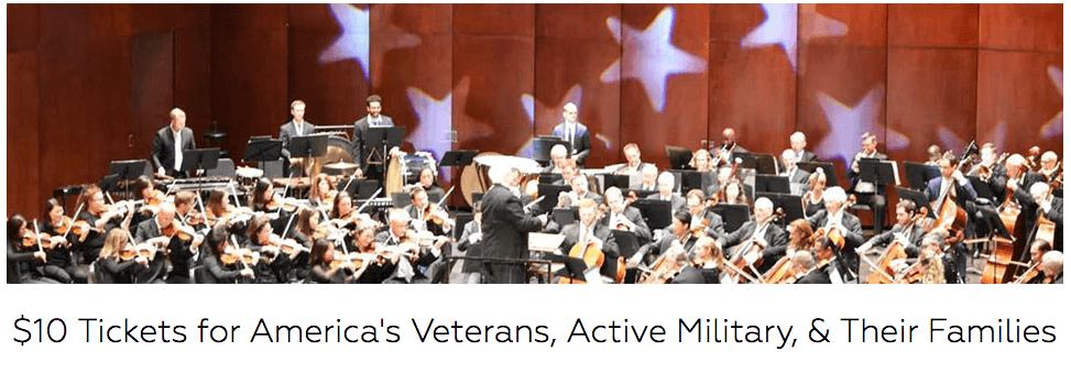 $10 Tickets for America's Veterans