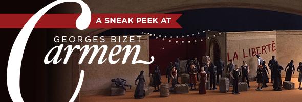 A sneak peek at Georges Bizet's Carmen