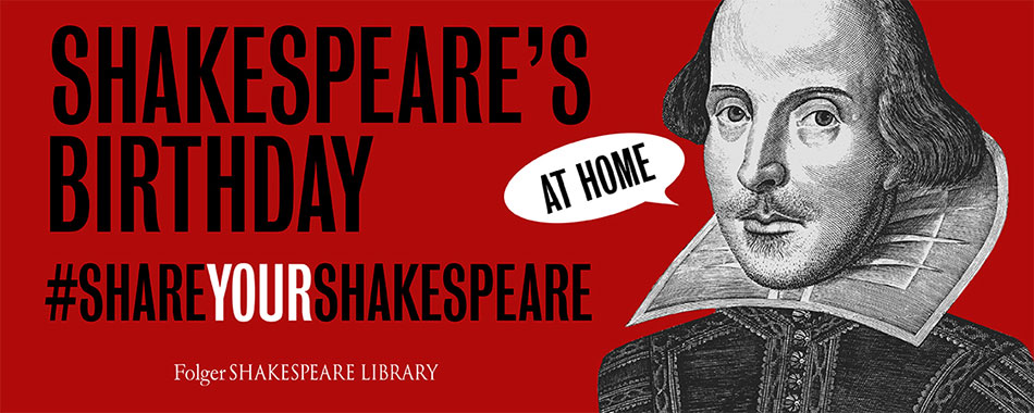Shakespeare's Birthday Party at Home