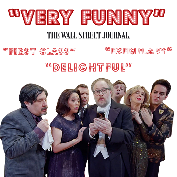 """""""VERY FUNNY"""" - The Wall Street Journal"""