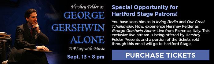 Hershey Felder as George Gershwin Alone