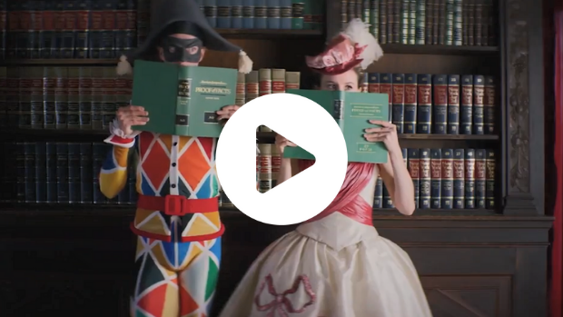 WATCH: Masks, color, and whimsy in Harlequinade!