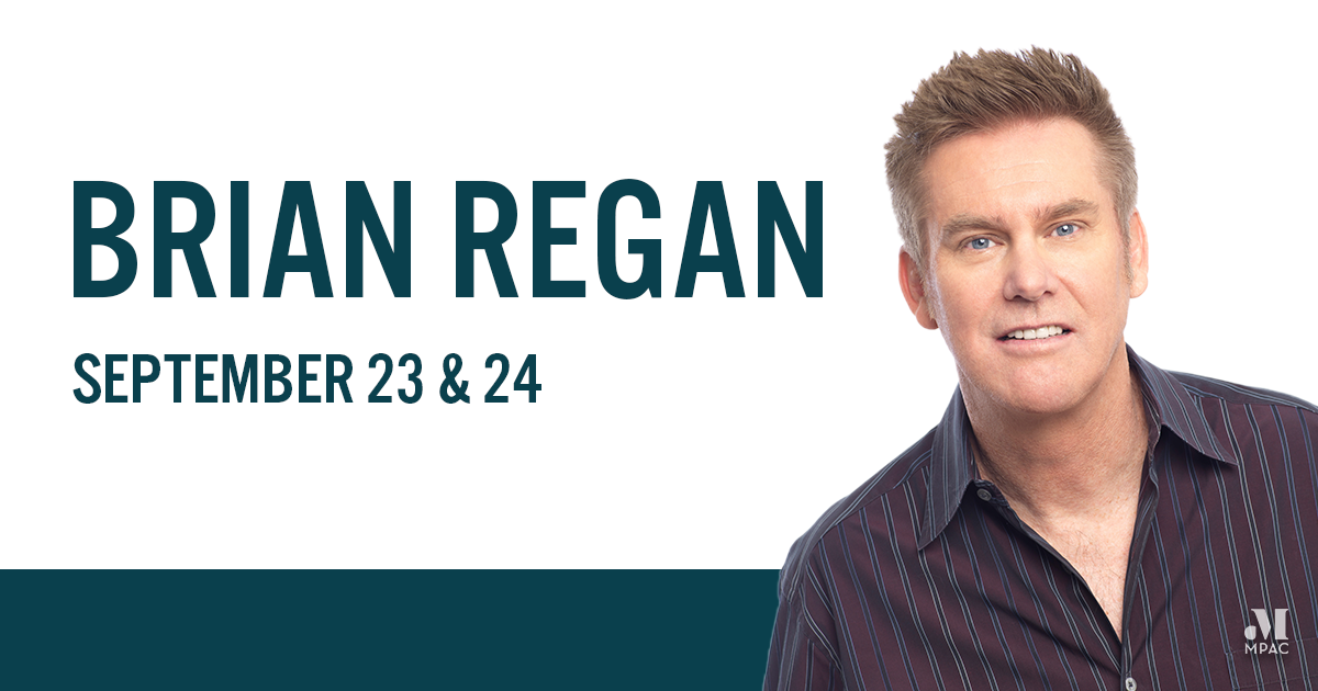 Photo of Brian Regan Coming To MPAC September 23 & 24