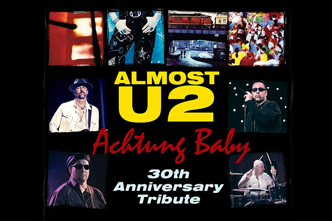 Image of Almost U2 Achtung Baby 30th Anniversary Tribute