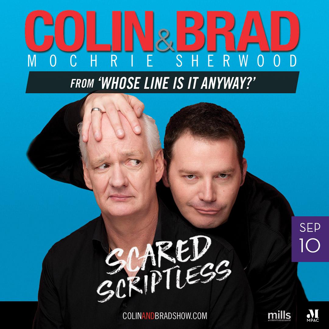 Image of Colin Mochrie & Brad Sherwood