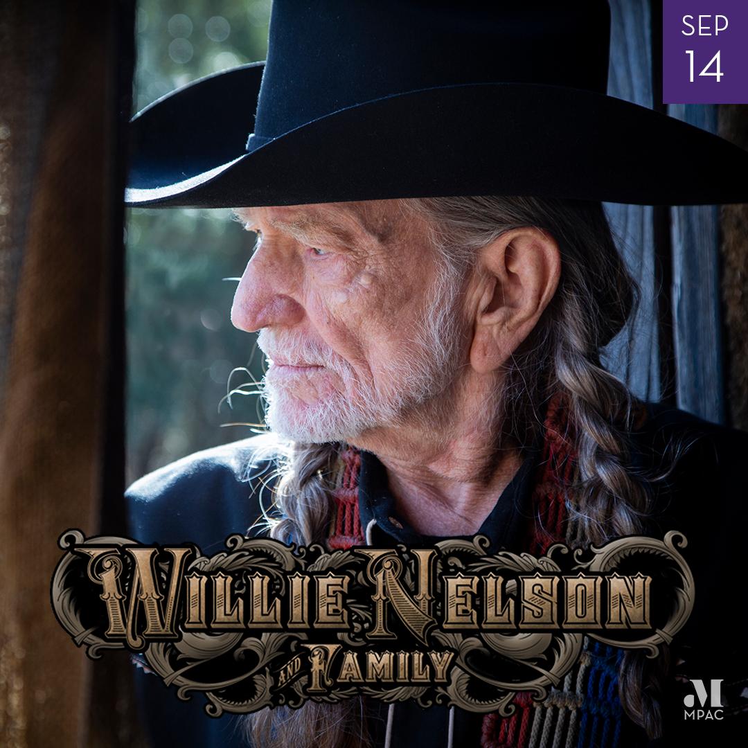 Image of Willie Nelson September 14