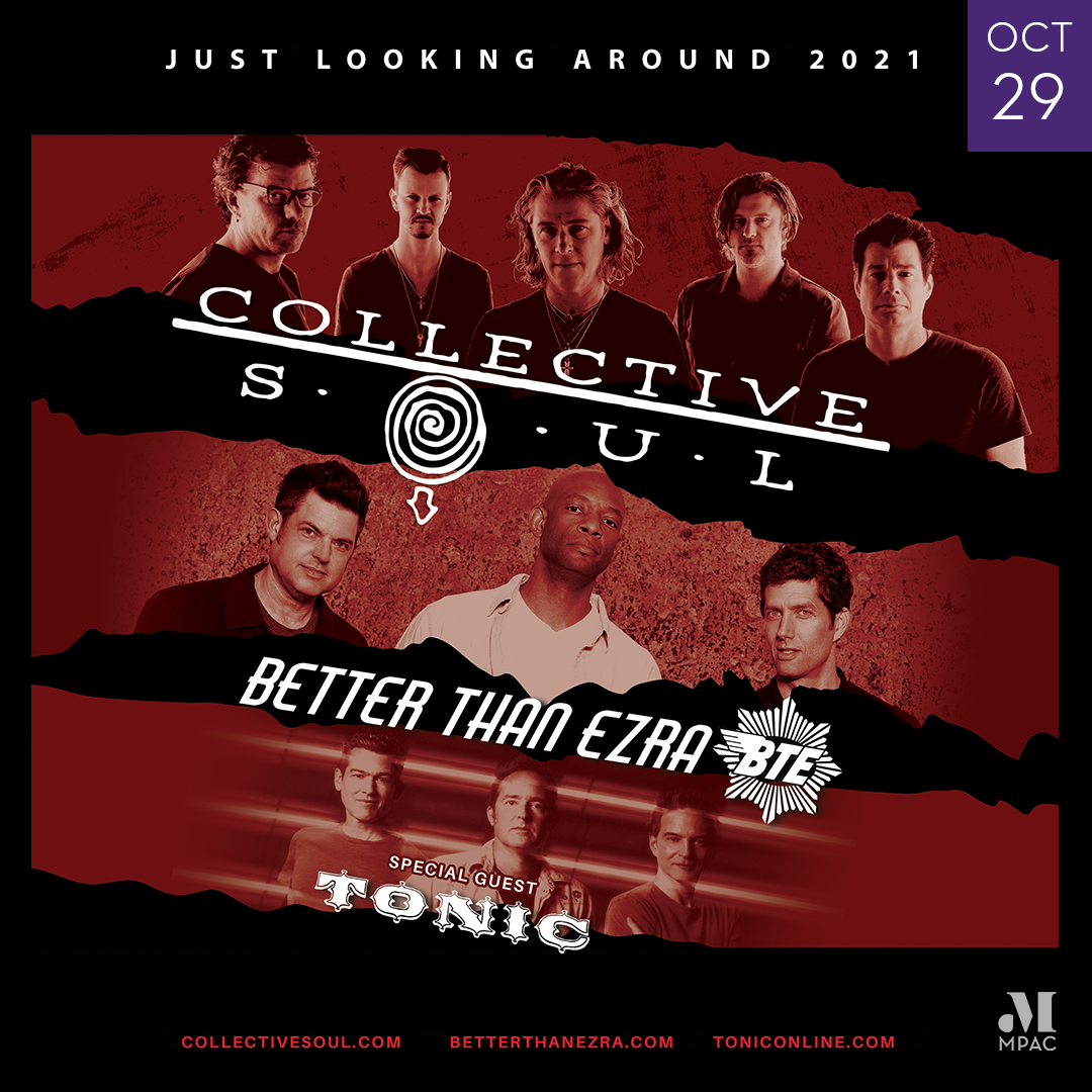 Image of Collective Soul, Better Than Ezra and Tonic October 29