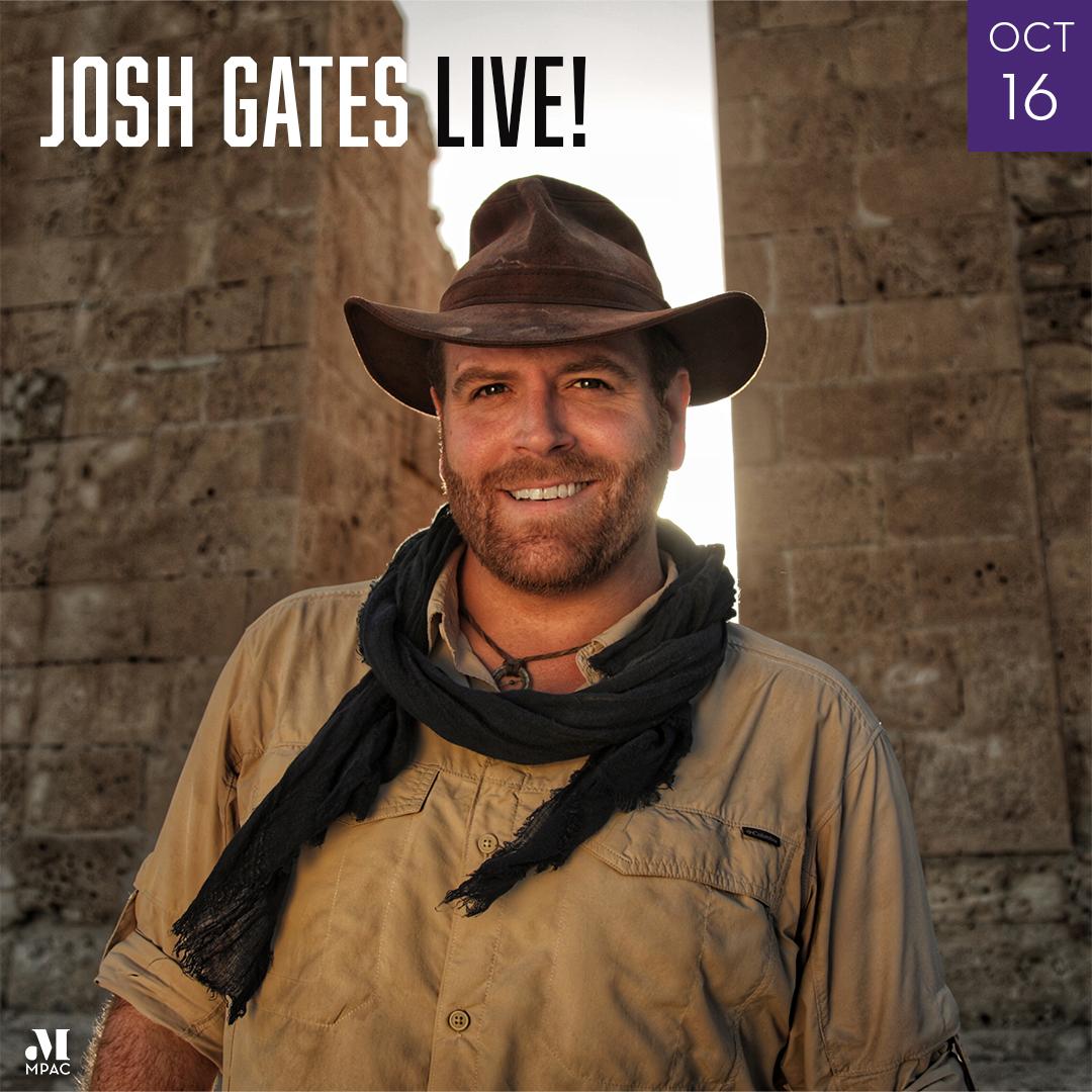 Image of Josh Gates Live October 16