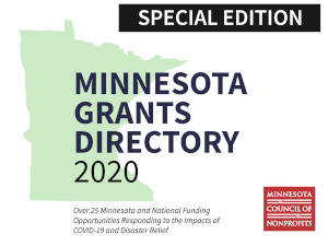 MN Grants Directory Report Cover