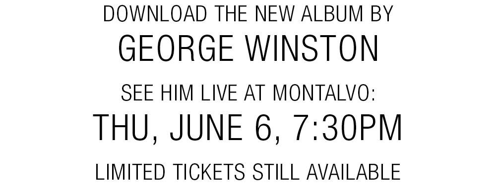 Download the new album by George Winston