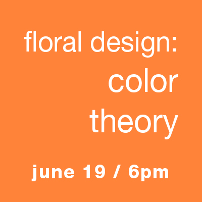 Contemporary Floral Design: Color Theory