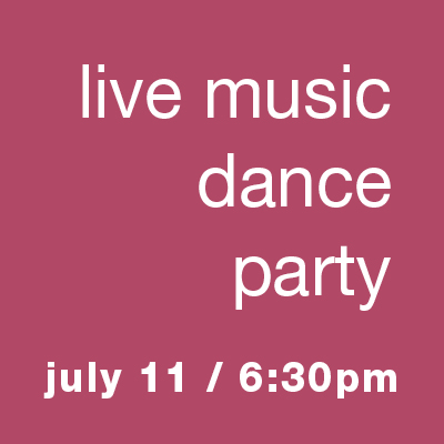 Live Music Dance Party: Line Dancing, Two Step, & Bluegrass - July 11 6:3pm