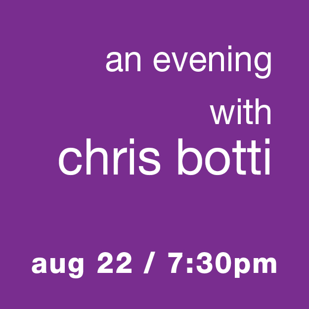 An Evening with Chris Botti: August 22 / 7:30pm