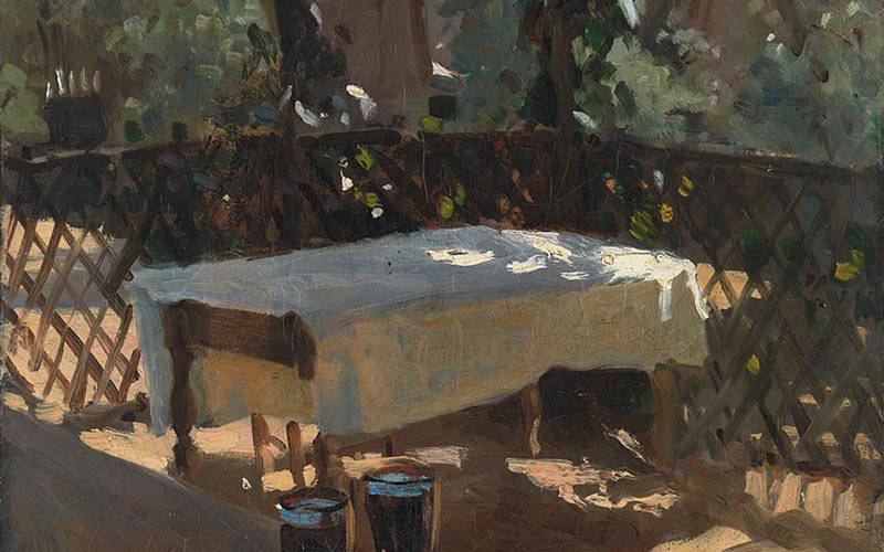 John Singer Sargent, Wineglasses, probably 1875 © The National Gallery, London