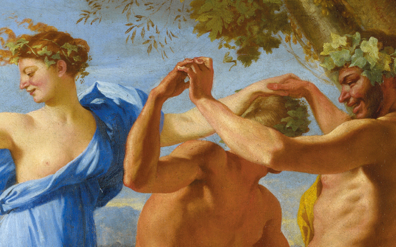 Nicolas Poussin, 'A Bacchanalian Revel before a Term', 1632–3 © The National Gallery, London