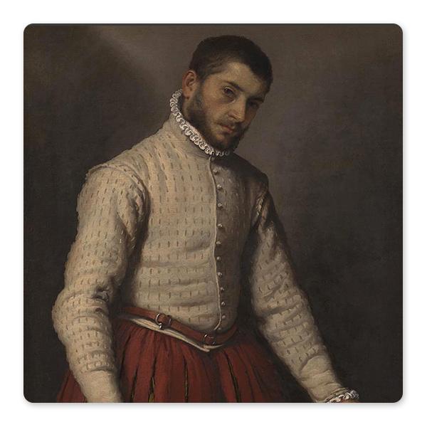 Giovanni Battista Moroni, The Tailor ('Il Tagliapanni'), 1565-70 © The National Gallery, London