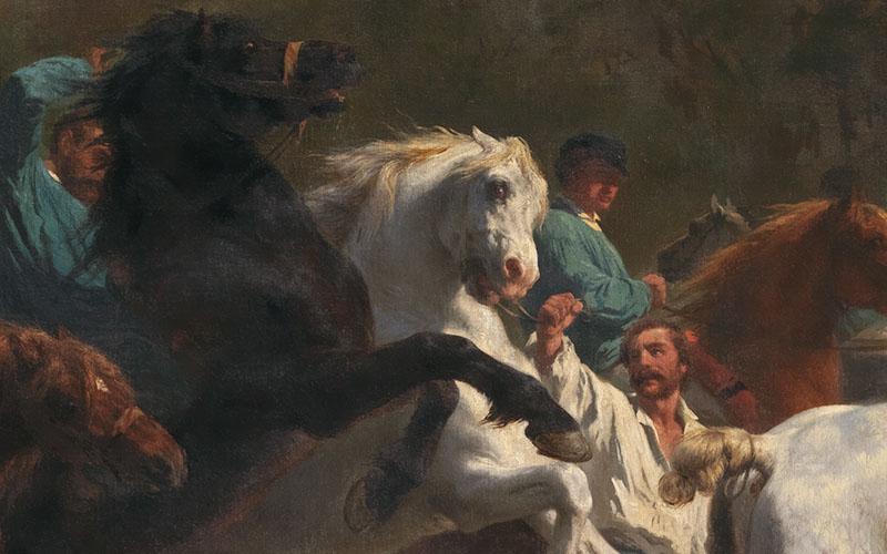Rosa Bonheur, The Horse Fair, 1855 © The National Gallery, London