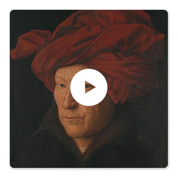 Jan van Eyck, Portrait of a Man (Self Portrait?), 1433 © The National Gallery, London